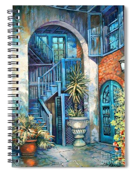 Brulatour Courtyard Spiral Notebook