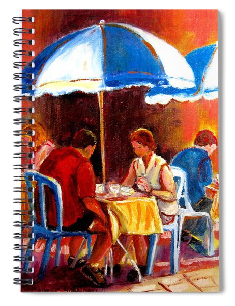 Brunch At The Ritz Spiral Notebook