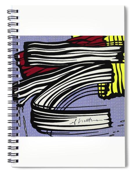 Brushstroke -1965 Spiral Notebook