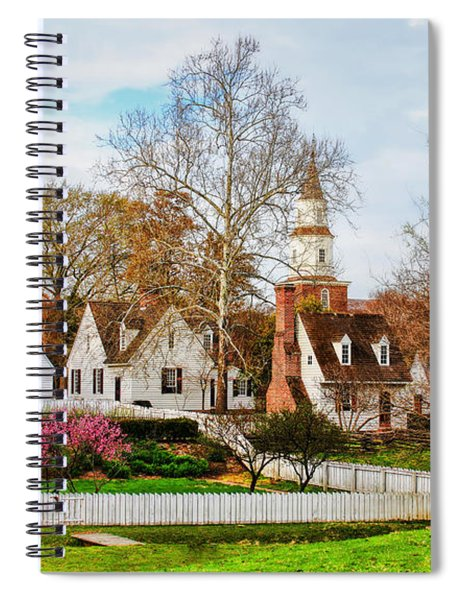 Colonial Williamsburg  Spiral Notebook