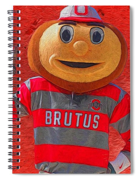 Brutus The Buckeye Spiral Notebook