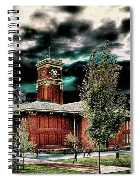 Bryan Hall - Pullman Washington Spiral Notebook