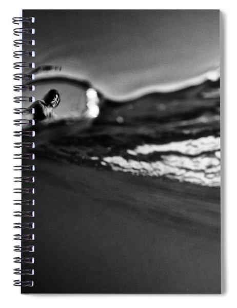 Bubble Surfer Spiral Notebook