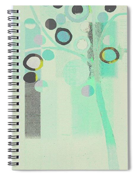 Bubble Tree - S85c39l Spiral Notebook
