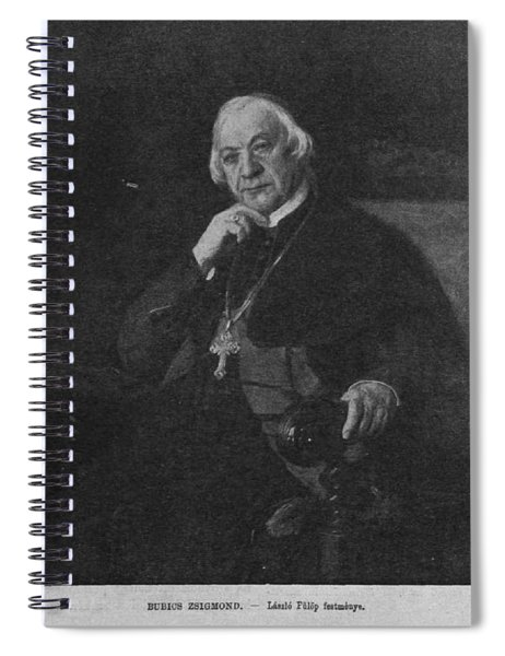 Bubics Zsigmond Spiral Notebook