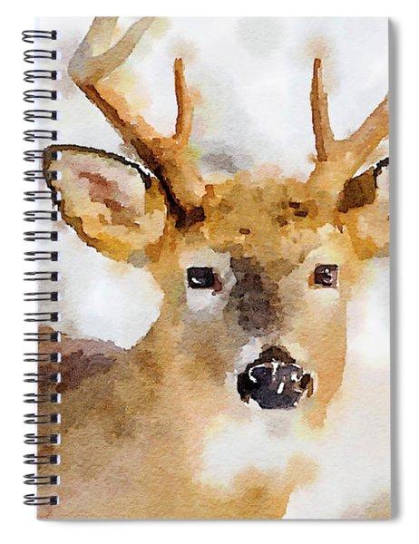 Buck Profile Spiral Notebook