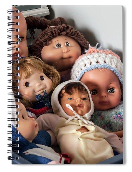 Bucket Of Memories Spiral Notebook