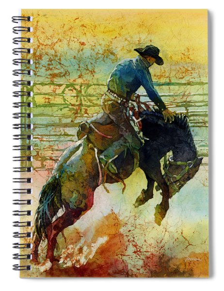 Bucking Rhythm Spiral Notebook