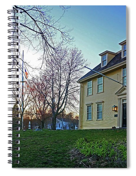 Buckman Tavern At Sunset Spiral Notebook