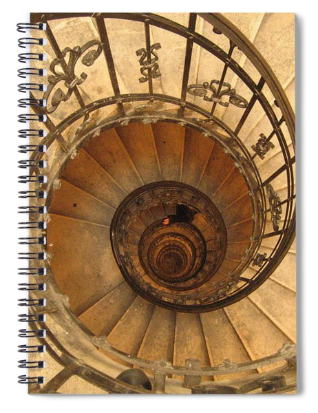 Budapest Staircase Spiral Notebook