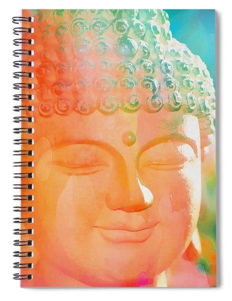 Buddah Glow Spiral Notebook