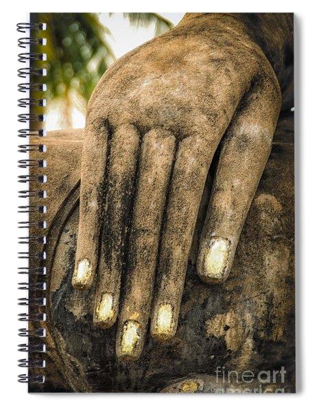 Buddha Hand Spiral Notebook