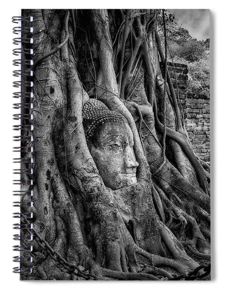 Buddha Head Ayutthaya Spiral Notebook