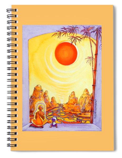 Buddha Meditation Spiral Notebook