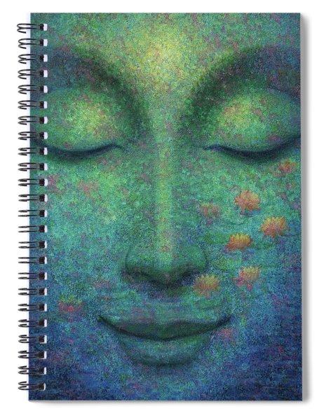 Buddha Smile Spiral Notebook
