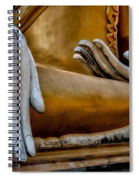 Buddhist Statue Spiral Notebook