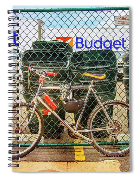 Budget Bicycle Spiral Notebook