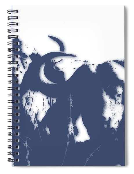 Buffalo 2 Spiral Notebook