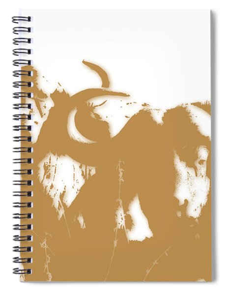 Buffalo 3 Spiral Notebook