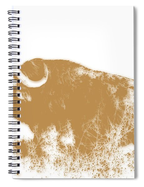 Buffalo 4 Spiral Notebook