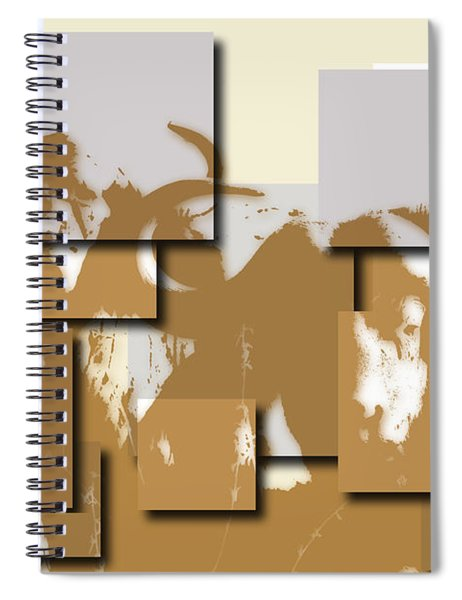 Buffalo 5 Spiral Notebook