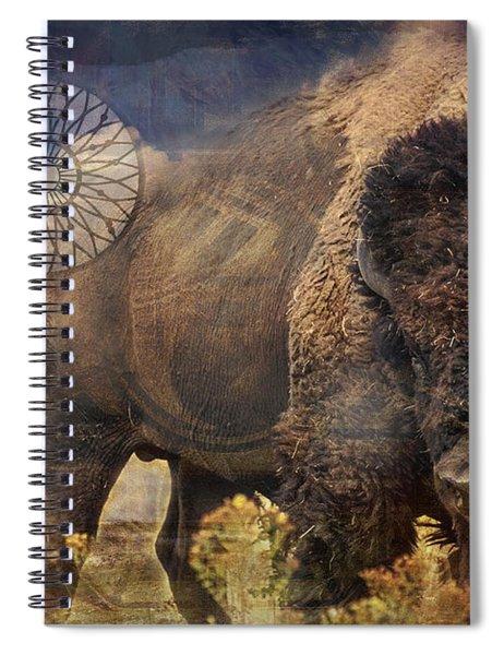 Buffalo Medicine 2015 Spiral Notebook