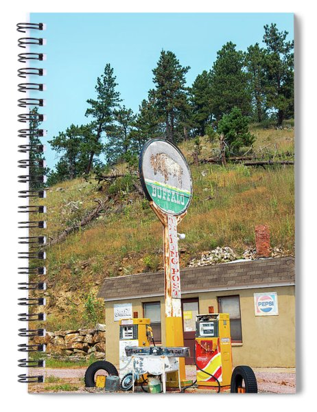 Buffalo Trading Post Gas Station Spiral Notebook