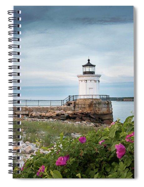 Bug Light Blooms Spiral Notebook