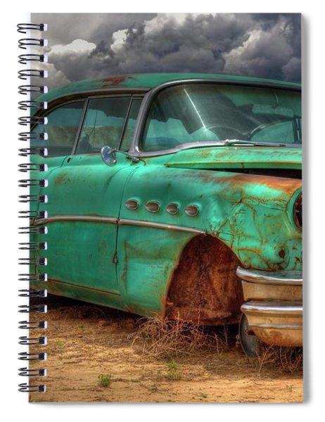 Buick Super Spiral Notebook