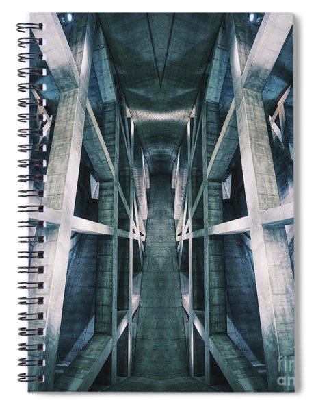Building A Building Spiral Notebook