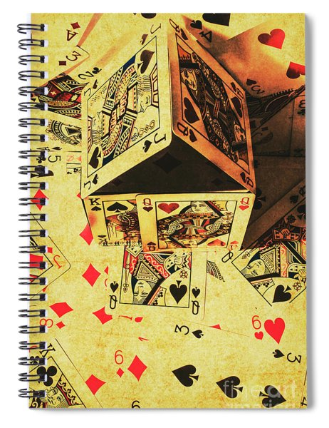 Building Bets And Stacking Odds Spiral Notebook