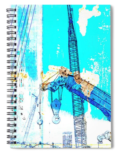 Building Boats Spiral Notebook