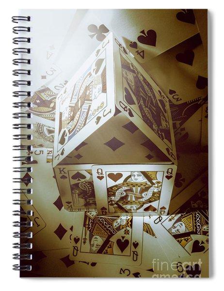 Building Odds Spiral Notebook