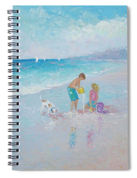 Building Sandcastles Spiral Notebook