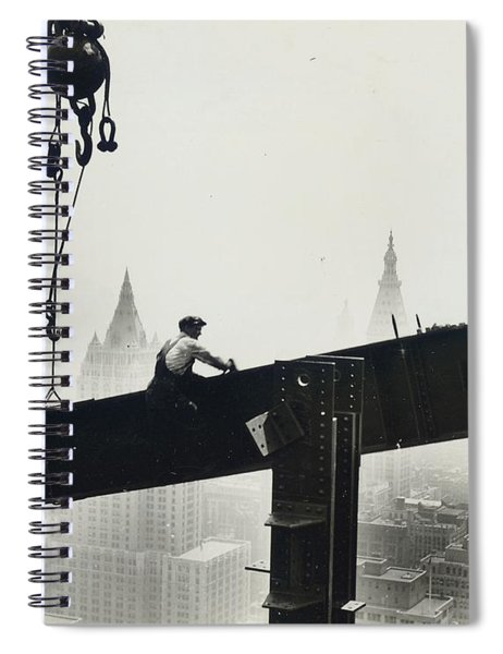 Building The Empire State Building Spiral Notebook