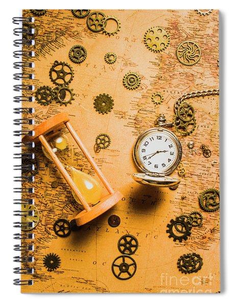 Building The Wayback Machine Spiral Notebook