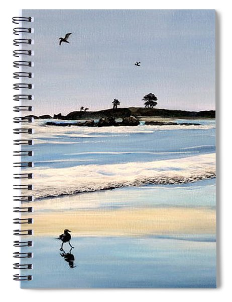 Bull Beach Spiral Notebook