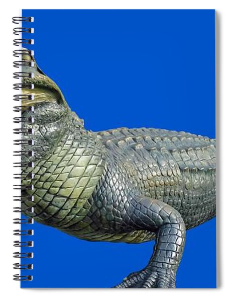 Bull Gator Transparent For T Shirts Spiral Notebook