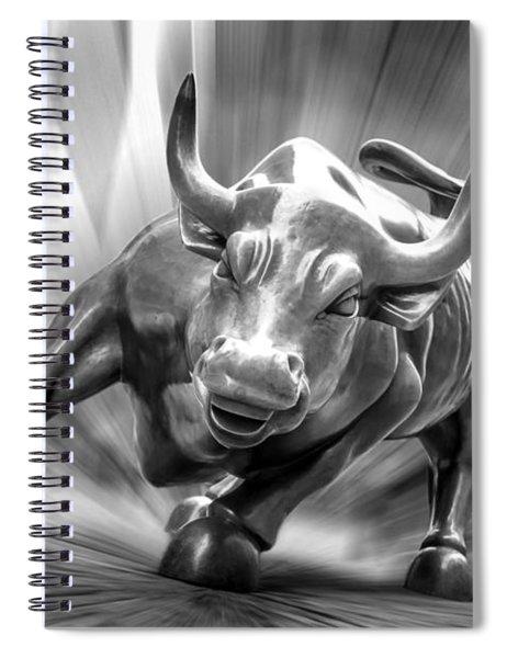 Bull Market Spiral Notebook