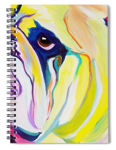Bulldog - Bully Spiral Notebook