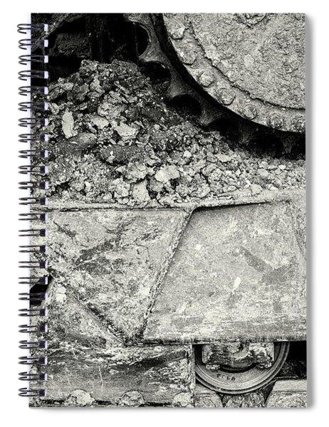 Bulldozer Dirt Fest Spiral Notebook