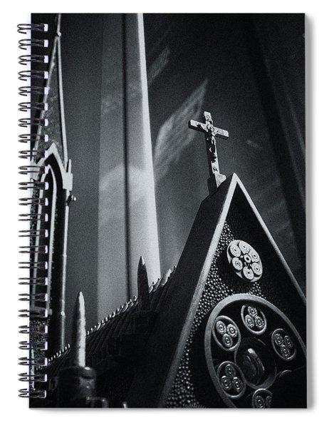 Bullet Church Spiral Notebook