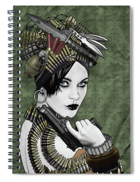 Bullets Is My Business Spiral Notebook