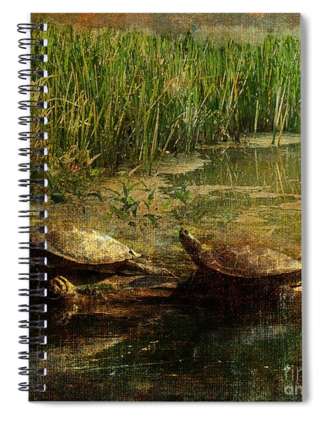 Bump On A Log 2015 Spiral Notebook