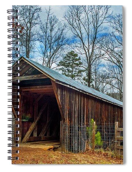 Bunker Hill Cvered Bridge Spiral Notebook