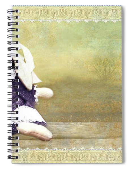 Bunny Kisses Doll Spiral Notebook
