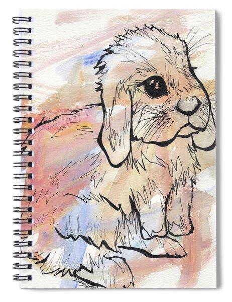 Bunny Love Spiral Notebook