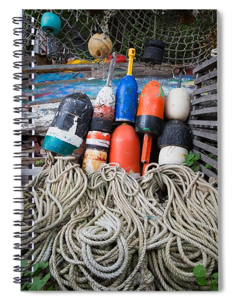 Buoys 2 Spiral Notebook