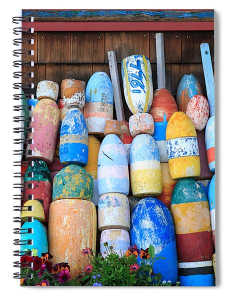 Buoys Spiral Notebook