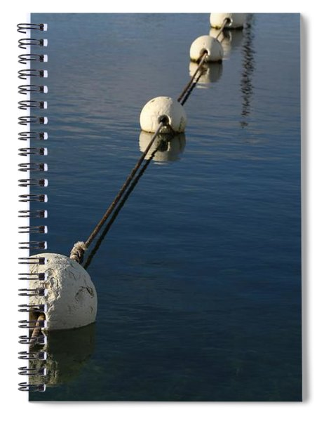 Buoys In Aligtnment Spiral Notebook